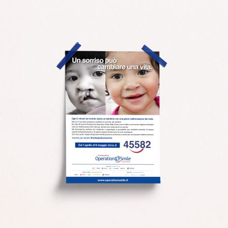 Campagna SMS Operation Smile
