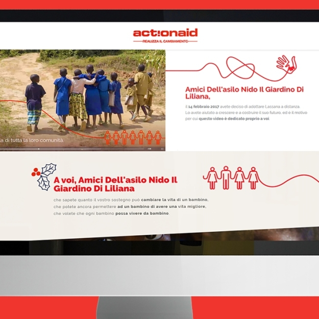 Direct Video per donatori Lapsed ActionAid